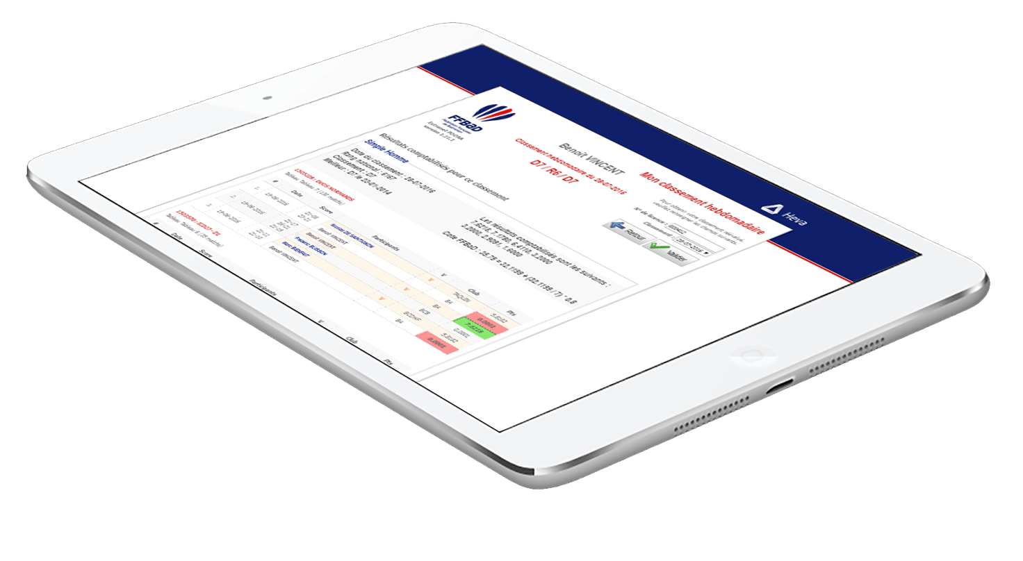 Découvrir Heva le logiciel de gestion de fédération de sport du groupe StadLine - Modules complémentaires