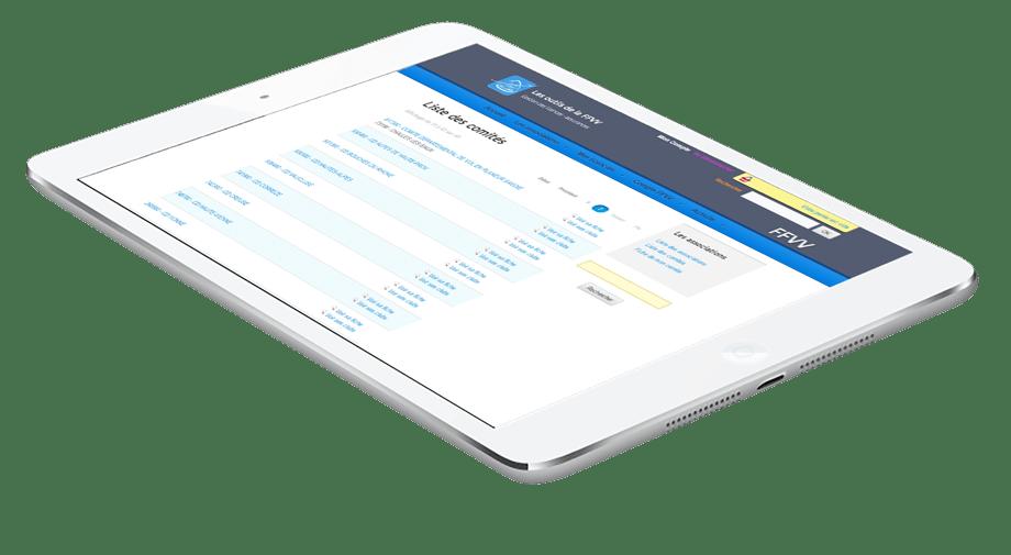 Découvrir Heva le logiciel de gestion de fédération de sport du groupe StadLine - Extranet de le fédération
