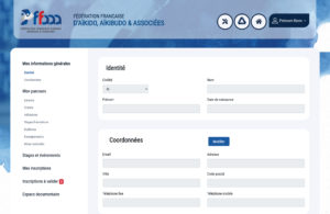 Gestion fédération - espace membre FFAAA